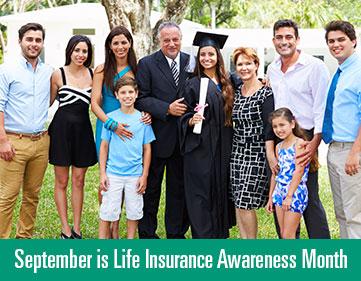 September is Life Insurance Awareness Month alt