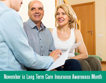 November is Long Term Care Insurance Awareness Month alt